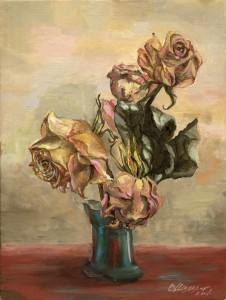 Сухие розы